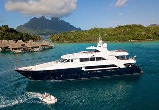 Playpen Charter Yacht at Antigua Charter Show 2013
