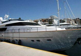 Dream Charter Yacht at Mediterranean Yacht Show 2014
