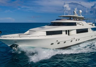Black Swan Charter Yacht at Fort Lauderdale Boat Show 2014