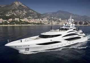 Illusion V Charter Yacht at Antigua Charter Yacht Show 2014