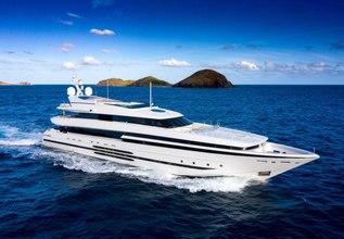 Balista Charter Yacht at Miami Yacht Show 2018
