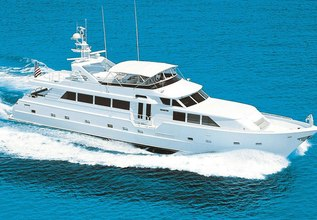 Harlina Charter Yacht at Fort Lauderdale Boat Show 2014