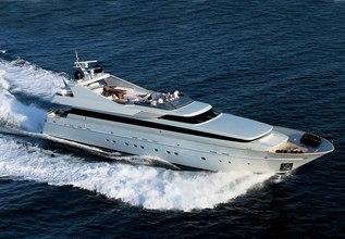 Kintaro Charter Yacht at Mediterranean Yacht Show 2017