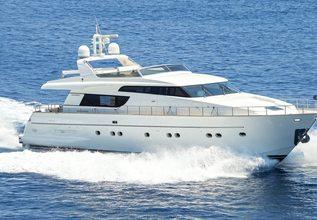 Fos Charter Yacht at Mediterranean Yacht Show 2017