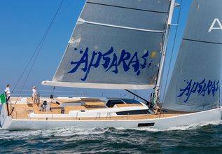 Apsaras Charter Yacht at Monaco Yacht Show 2015