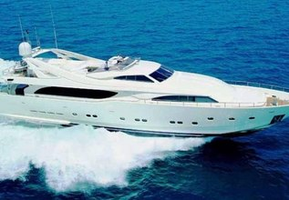 Marilyn Charter Yacht at Palm Beach Boat Show 2014