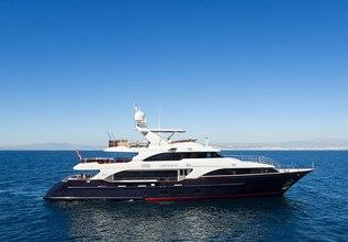 Option B Charter Yacht at Mediterranean Yacht Show 2018