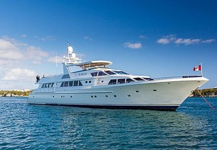 No Buoys Charter Yacht at Fort Lauderdale Boat Show 2014