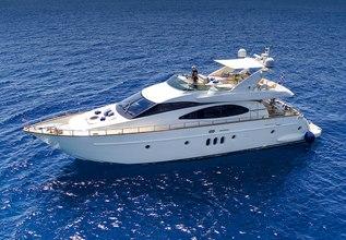 Iris Charter Yacht at Mediterranean Yacht Show 2017