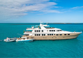 Zeal Charter Yacht at Palm Beach Boat Show 2014