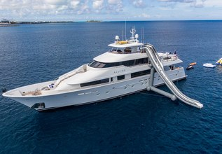 All Inn Charter Yacht at Fort Lauderdale Boat Show 2015