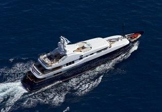 Baraka Charter Yacht at MYBA Charter Show 2013