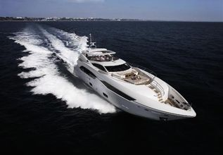 Insignia Charter Yacht at Miami Yacht Show 2018