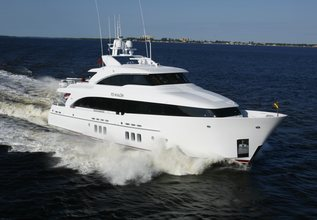 Indulgence Charter Yacht at Fort Lauderdale Boat Show 2019 (FLIBS)