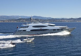 Zoom Zoom Zoom Charter Yacht at MYBA Charter Show 2014
