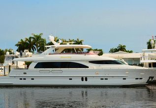 Kentucky Belle Charter Yacht at Fort Lauderdale Boat Show 2015