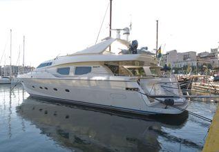 Stefania Anais Charter Yacht at East Med Yacht Show 2015