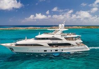 Namaste Charter Yacht at Miami Yacht Show 2020
