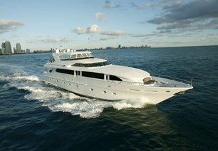 Outta Touch Charter Yacht at Fort Lauderdale Boat Show 2015