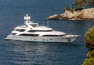 Justa Delia Charter Yacht at Monaco Yacht Show 2015