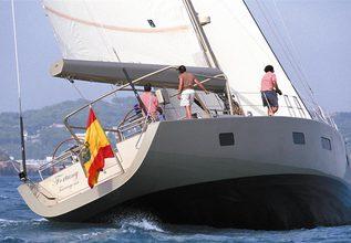 Fantasea Blue Charter Yacht at Palma Superyacht Show 2015