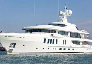 Z Charter Yacht at Monaco Yacht Show 2014