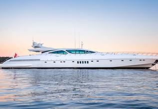Beachouse Charter Yacht at MYBA Charter Show 2018