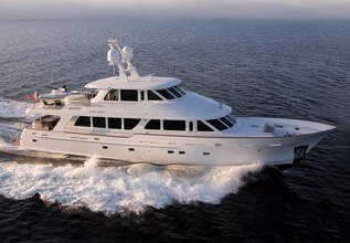 Now or Never Charter Yacht at Palm Beach Boat Show 2019