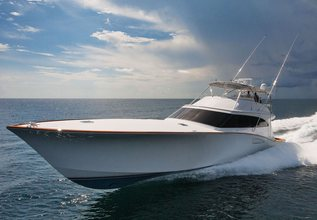No Vacancy Charter Yacht at Fort Lauderdale Boat Show 2019 (FLIBS)