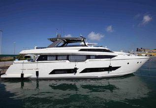 Vicho Charter Yacht at Miami Yacht Show 2018