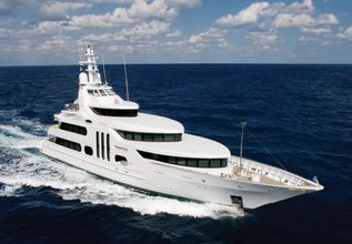 Gallant Lady Charter Yacht at Fort Lauderdale Boat Show 2014