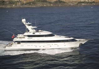 Mea Culpa Charter Yacht at Fort Lauderdale Boat Show 2014