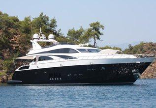White Pearl Charter Yacht at Festival de la Plaisance de Cannes 2013