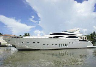 Negoseator Charter Yacht at Miami Yacht Show 2020