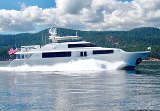 Natural 9 Charter Yacht at Miami Yacht Show 2020
