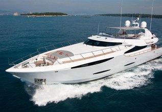 taTii II Charter Yacht at MYBA Charter Show 2014