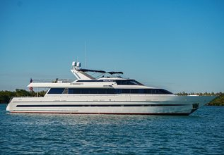 Platinum Princess Charter Yacht at Palm Beach Boat Show 2016