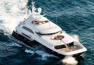 Zenith Charter Yacht at Fort Lauderdale Boat Show 2017