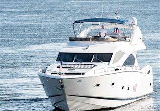 Alaina Charter Yacht at Miami Yacht Show 2019