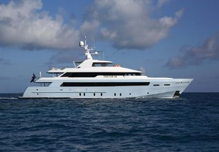 Pisces Charter Yacht at Miami Yacht Show 2018