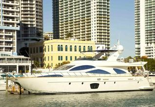 Allora Charter Yacht at Fort Lauderdale Boat Show 2014