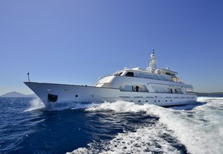 Number Nine Charter Yacht at MYBA Charter Show 2014