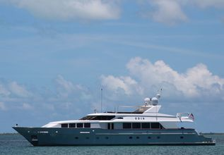 Odin Charter Yacht at Fort Lauderdale Boat Show 2015