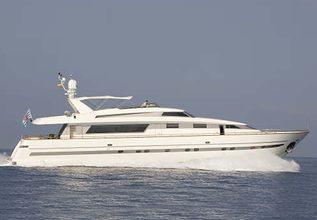 Las Brisas Charter Yacht at Palma Superyacht Show 2014
