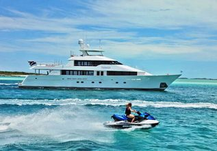 Desperado Charter Yacht at Miami Yacht Show 2018
