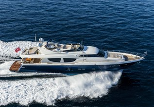 Mythos Charter Yacht at Mediterranean Yacht Show 2017