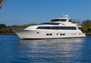 Golden Touch Charter Yacht at Fort Lauderdale Boat Show 2014