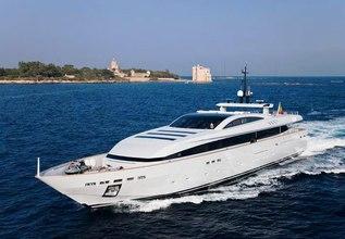 Fan Too Charter Yacht at Monaco Grand Prix 2014