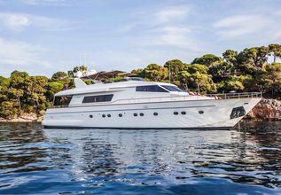 Solal Charter Yacht at Monaco Grand Prix Yacht Charter