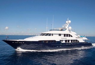Paladin Charter Yacht at Fort Lauderdale Boat Show 2015